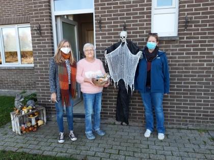 Halloween in wijk Hoefkamp