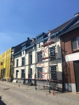 Gevelrenovatie Rechtestraat Stokkem