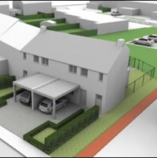 Nieuwbouw in Gruitrode